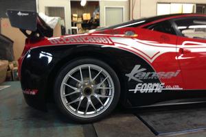 フェラーリ レース仕様ラッピングのサムネイル