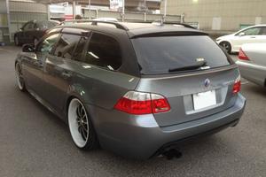 BMW E61 レザーフィルムラッピングのサムネイル
