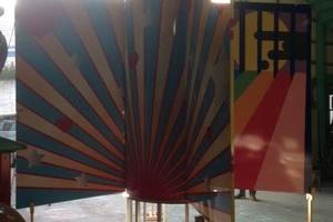 遊具印刷フィルム施工のサムネイル