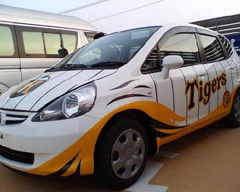 限定車企画 阪神タイガース仕様車のサムネイル