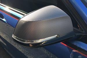 BMW ストライプ、カーボン施工のサムネイル