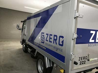 ZERO様トラック マーキング
