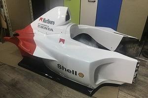 レーシングカート フルラッピングのサムネイル