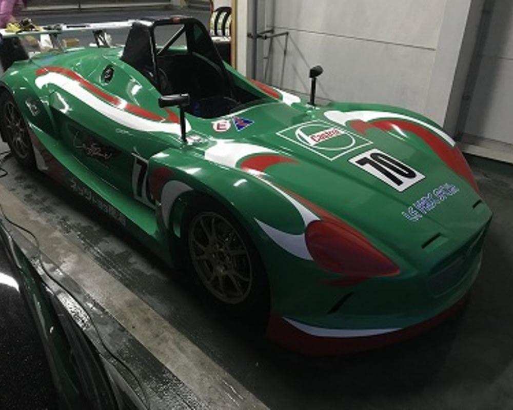 レーシングカー マーキングのサムネイル