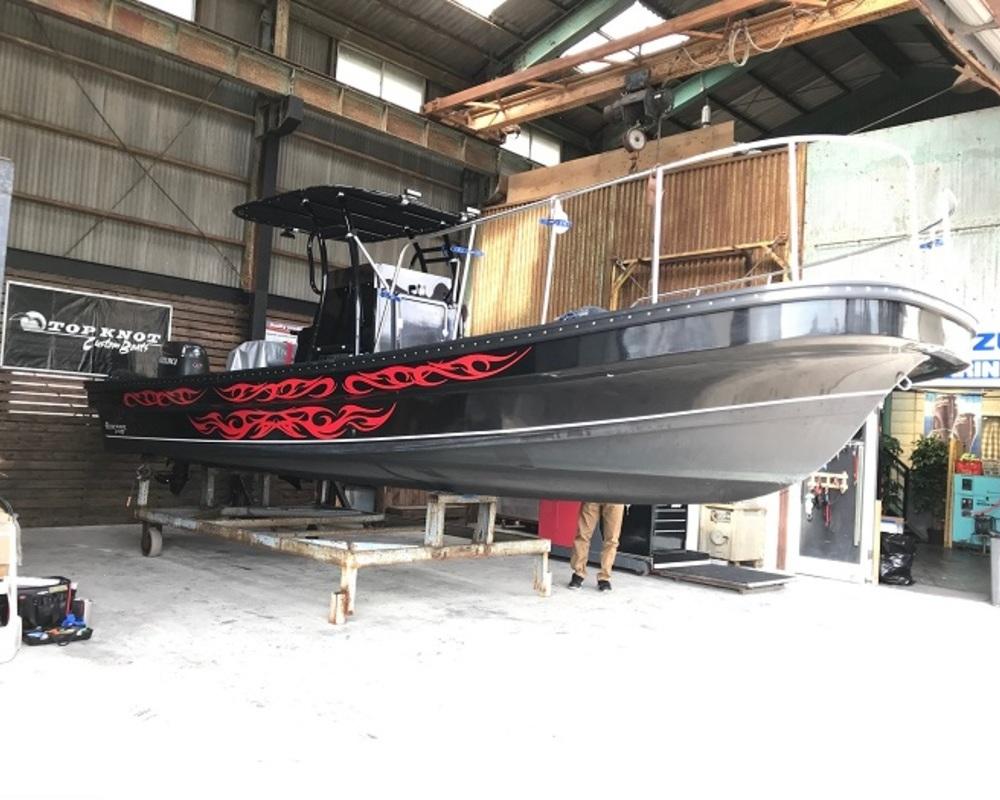 船 バイナルステッカーのサムネイル