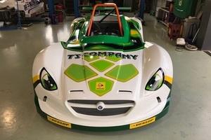 レース車両ラッピングのサムネイル