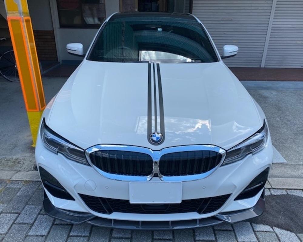 BMW ルーフラッピング・センターストライプのサムネイル